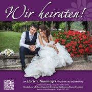 """""""Wir heiraten"""" Ausgabe Hohen Neuendorf, Hennigsdorf, Falkensee, Nauen, Brieselang 2016"""